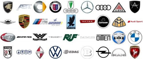 German Car Brands logo