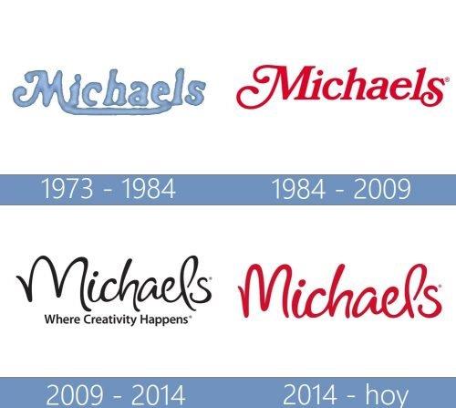Michaels logo historia