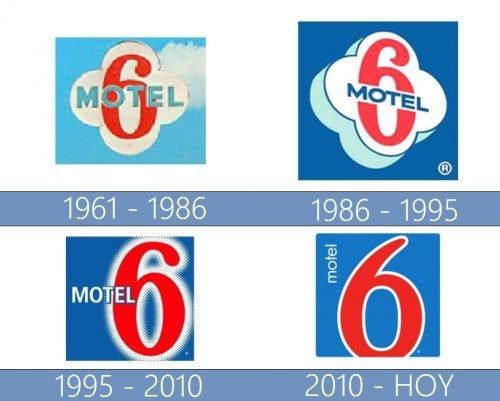 Motel 6 logo historia