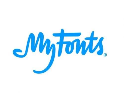 My Fonts logo
