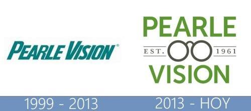 Pearle Vision logo historia