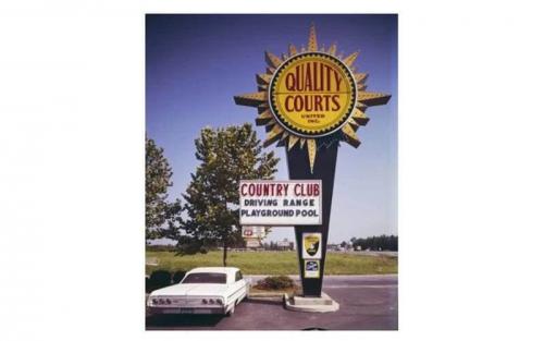 Quality Inn Logo 1995
