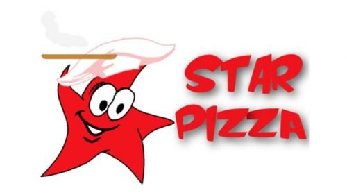 Restaurant with star logo
