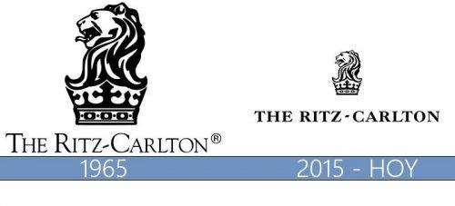 Ritz Carlton logo historia