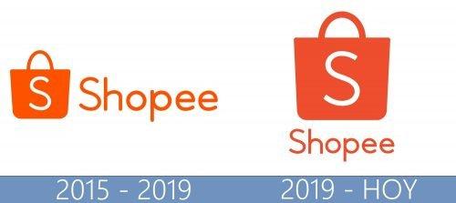 Shopee logo historia