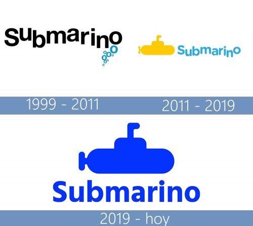 Submarino logo historia