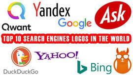 Los 10 mejores logos de motores de búsqueda del mundo