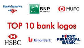 op 10 logos bancarios