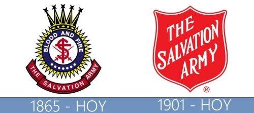 The Salvation Army logo historia