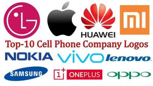 Top-10 Cell Phone Company Logos