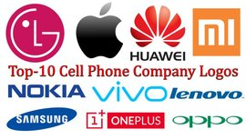 Top-10 logos de empresas de teléfonos