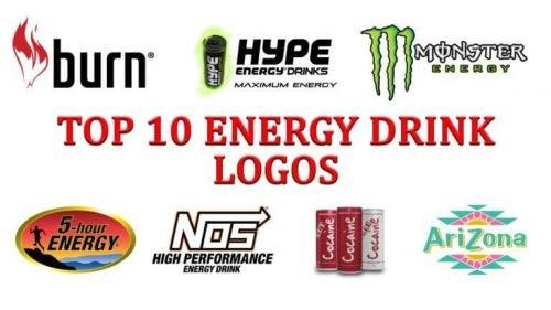 Top 10 Energy Drink Logos