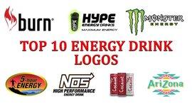 Top 10 logos de bebidas energéticas