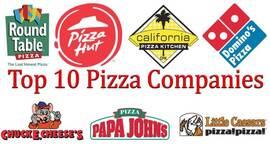 Las 10 mejores empresas de pizza