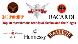 Las 10 marcas más famosas de alcohol y sus logos