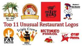 Los 11 logos de restaurante inusuales