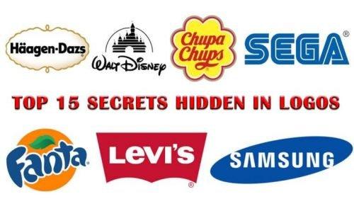 Top 15 Secrets Hidden in Logos