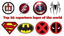 Top 20 logos de superhéroes del mundo