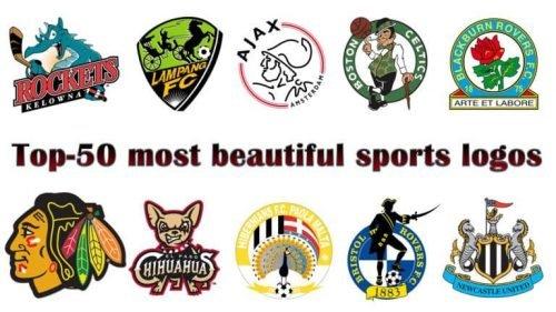 Top 50 most beautiful sports logos