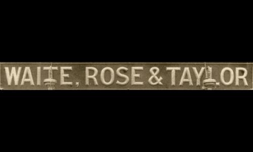 Waitrose logo 1904