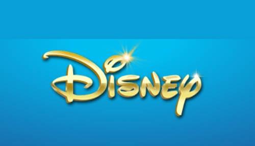 Walt Disney logo gold