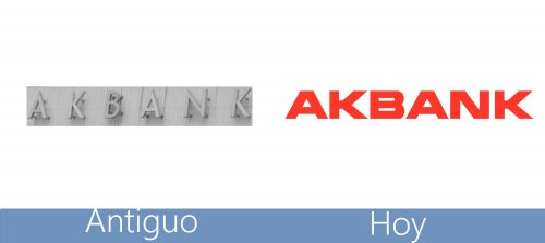 Akbank Logo historia