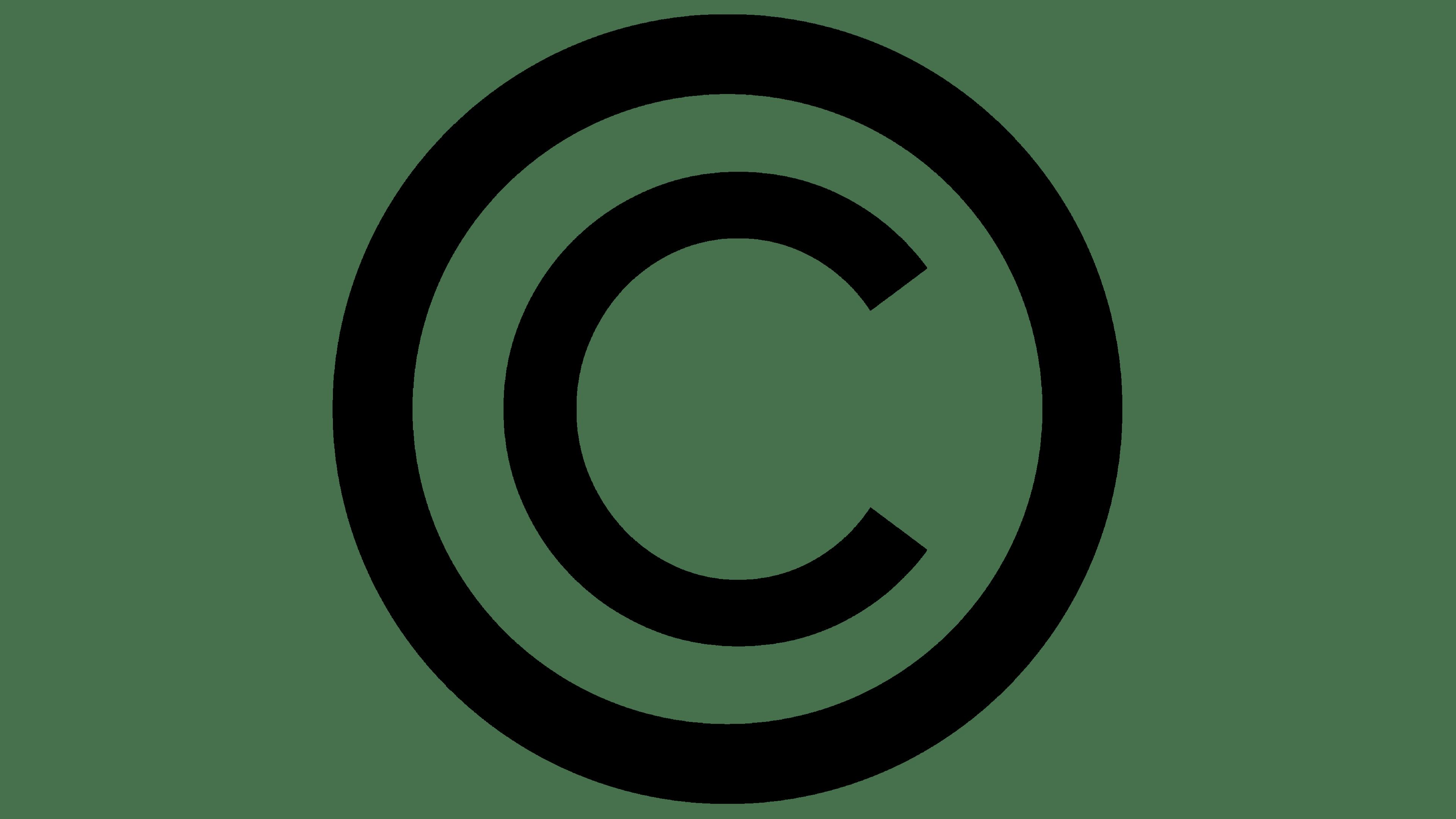 Сopyright symbol