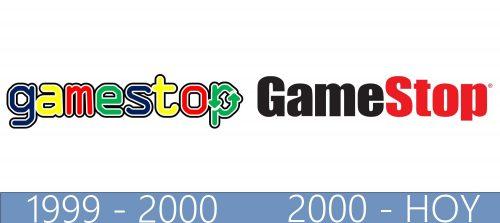 GameStop logo historia