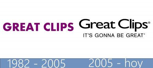 Great Clips logo historia