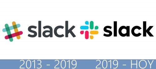 Slack logo historia