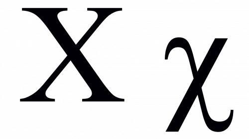 chi greek symbol