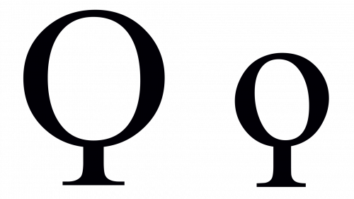coppa greek symbol