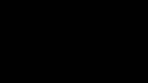 gamma greek symbol