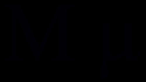 mu greek symbol