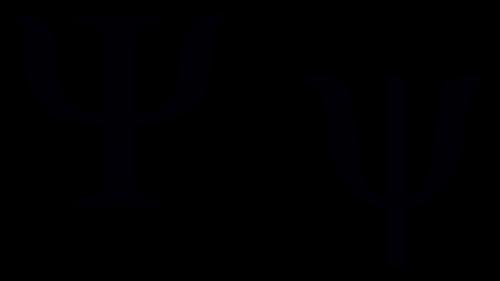 psi greek symbol